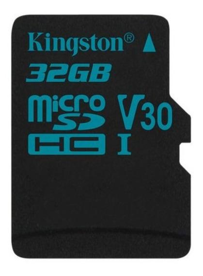 Cartão De Memória Microsd 32gb Kingston Go 90mb/s