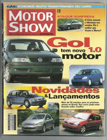 Revista Antiga Motor Show - Agosto 2001 - Ah