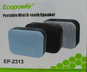Mini Caixa De Som Portátil Speaker Ep-2313 Ecopower