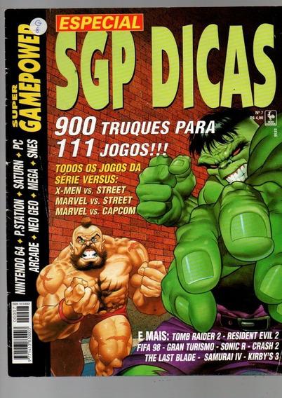 Super Gamepower Especial Sgp Dicas 900 Truques P/111 Jogos