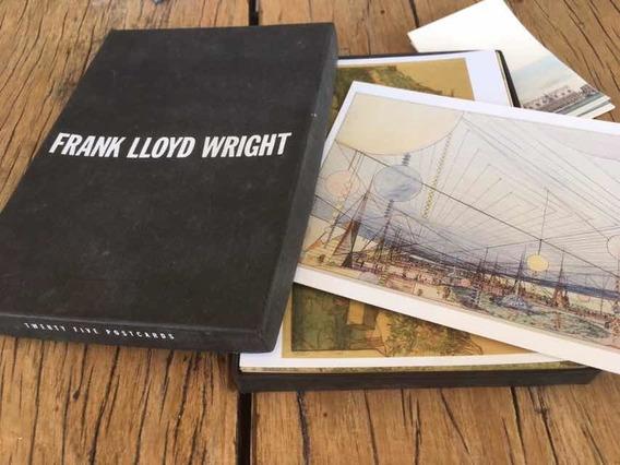 25 Postales Frank Lloyd Wright. En Caja/ Fotofolio.