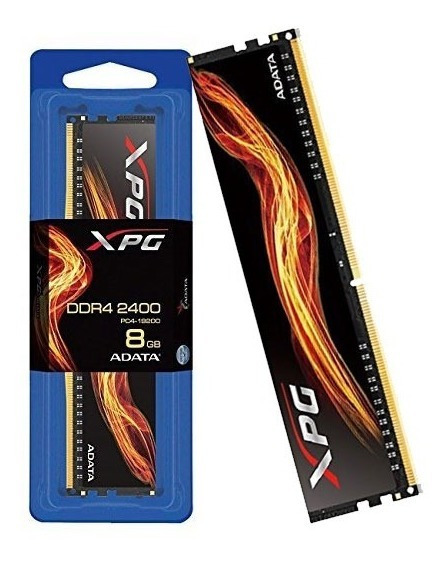 Memoria Desktop Gamer Ddr4 Adata 8gb 2400mhz.