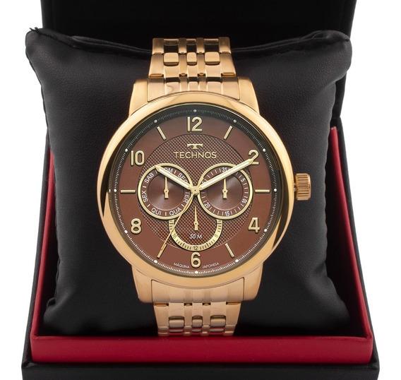 Relógio Masculino Technos Grandtech 6p79bl/4m