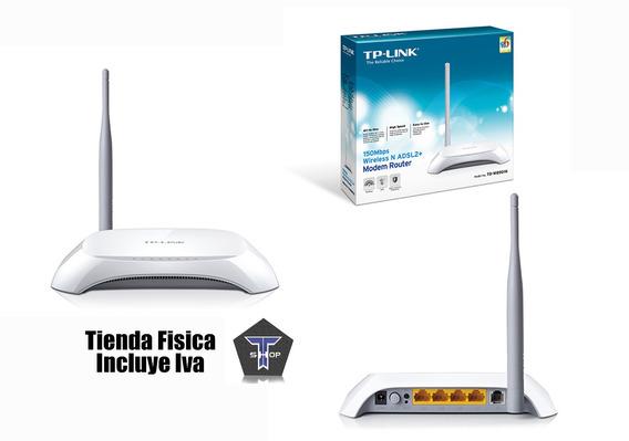 Modem Y Router Tp Link Adsl W8901n 150 Mbps Internet Cantv
