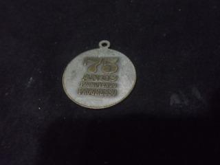 Medalha Banco De Credito Real De Minas Gerais S.a 75 Ano