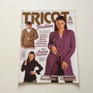 Revista Tricot Fashion Casacos Túnicas Blusas Cachecóis B05