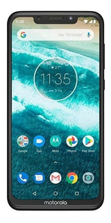 Celular Motorola Moto One 64gb 5.9 4gb 13mp Preto+cartão 32g