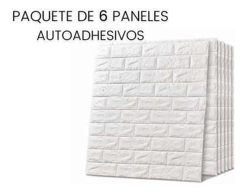 6 Paneles Adhesivos  Easywall - Pared Adhesiva