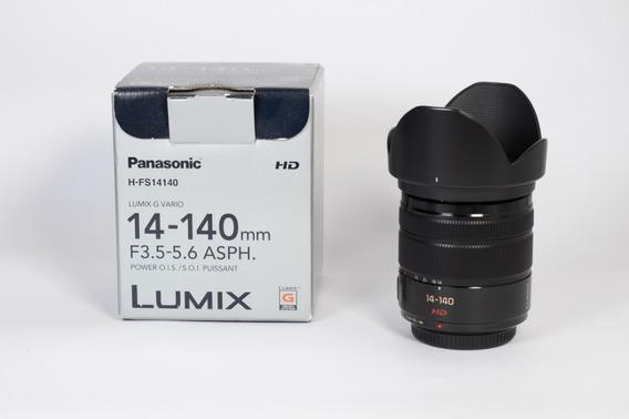 Lente Panasonic Lumix 14-140mm F/3.5-5.6 Ii