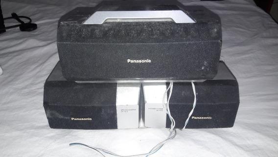 Caixa Mini System Som Panasonic Sa-ak77-funcionando (leia)