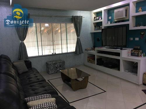 Casa À Venda, 247 M² Por R$ 639.000,01 - Vila Cecília Maria - Santo André/sp - Ca0560