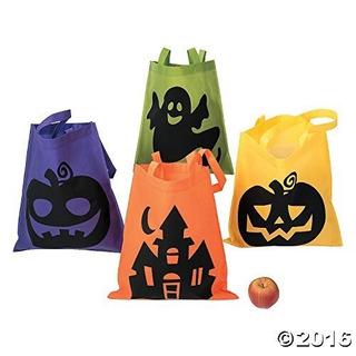 Bolsas De Asas De Halloween - 12 Por Pedido - Bolsas De Mano