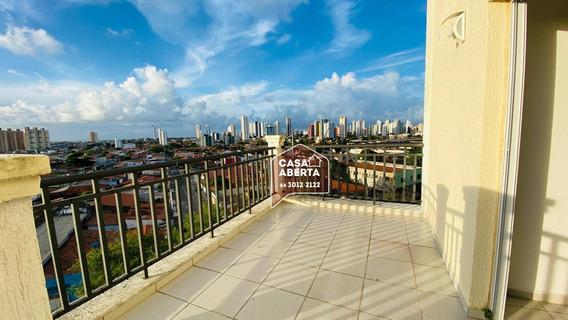 Apartamento Duplex Com 3 Dormitórios À Venda, 114 M² Por R$ 430.000,00 - Lagoa Nova - Natal/rn - Ad0001