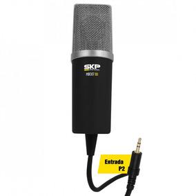 Microfone Profissional Skp Podcast 100 Plug P2