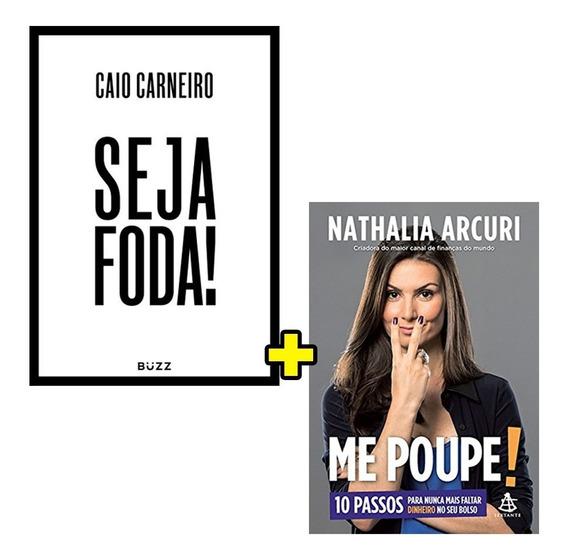 Kit De Livros Seja Foda! + Me Poupe - Envio Rápido