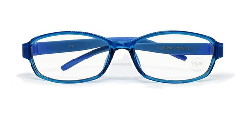 Imagen 1 de 4 de Lentes Vorago Con Proteccion Blue Light Kids Kg-200-bl Azul