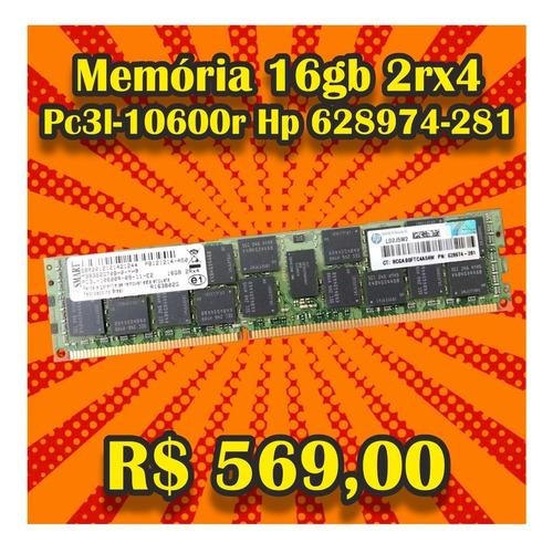 Memoria 16gb 2rx4 Pc3l-10600r M393b2g70h0-yh9 Hp 628974-281
