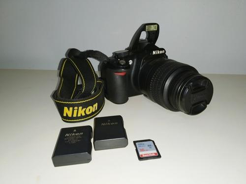 Nikon D3100/bolsa/bateria Extra/cartão 16gb/kit De Limpeza
