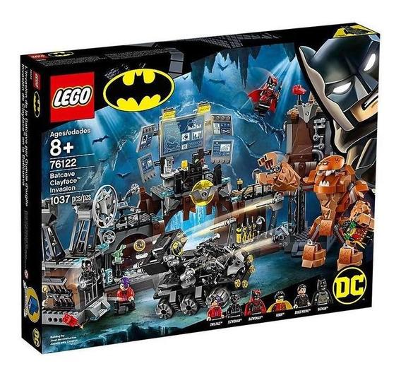 Lego Dc Batman Irrupción De Clayface En La Batcueva 76122