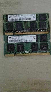Memorias Ddr2 Para Laptop De 1 Gb Usadas