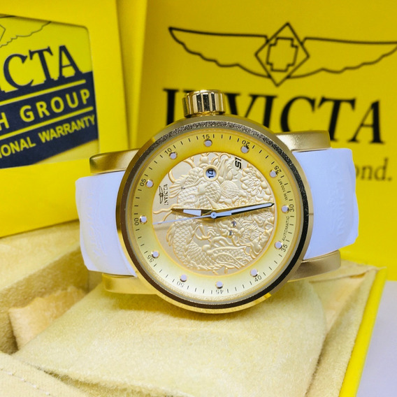 Relógio Invicta Yakusa S1 Branco