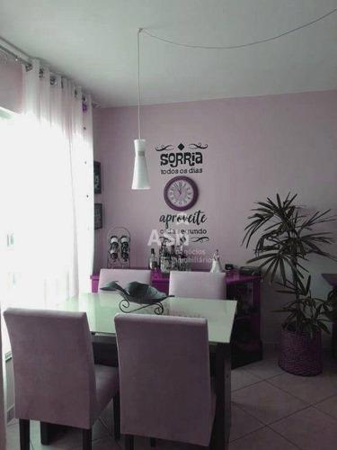 Imagem 1 de 14 de Apartamento Com 2 Dormitórios À Venda, 60 M² Por R$ 160.000,00 - Enseada Das Gaivotas - Rio Das Ostras/rj - Ap0482