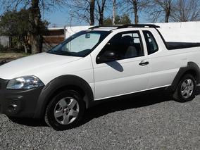 Fiat Strada 1.4 Año2016 Full Cab Extendida Unico Dueño Nueva