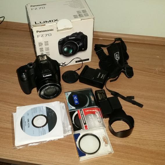 Câmera Panasonic Lumix Fz70 E Acessórios