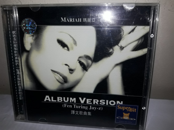 Cd Mariah Carey Album Version Japan Importado