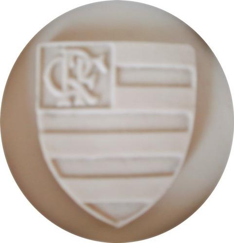 Imagem 1 de 2 de Molde De Silicone Logo Do Flamengo Pasta Americana