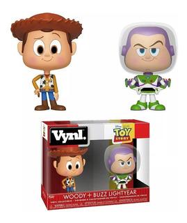 Funko Pop Vynl. Toy Story Woody + Buzz Lightyear