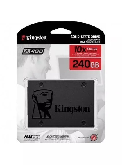 Hd Ssd 240gb Kingston Sata3 Sa400s37a/240g Solid State Drive