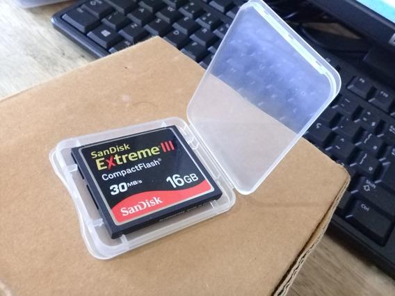 Cartão Compact Flash 16g