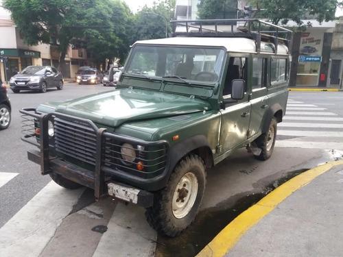 Imagen 1 de 14 de Land Rover Defender 2.5 110 5 Sw 2001