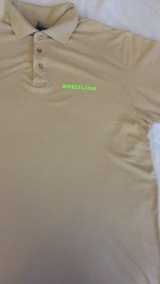 Camisa Polo Breitling Semi-nova Tam G- Brasil / Lacoste