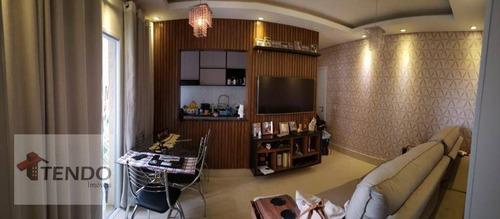Imagem 1 de 30 de Imob02 - Apartamento 67 M² - Venda - 3 Dormitórios - 1 Suíte - Jardim Santiago - Indaiatuba/sp - Ap2853