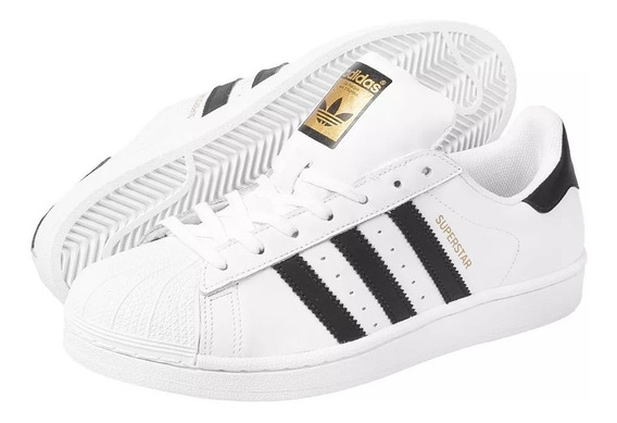 Tenis adidas Originals Superstar Branco - Original