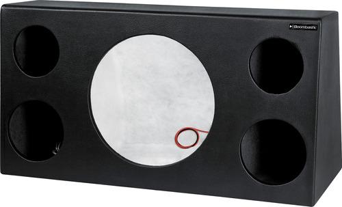 Caixa De Som Trio Box Para Falante De 12 + 2 Cornetas + 2 St