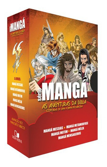 As Aventuras Da Bíblia - Box Série Mangá