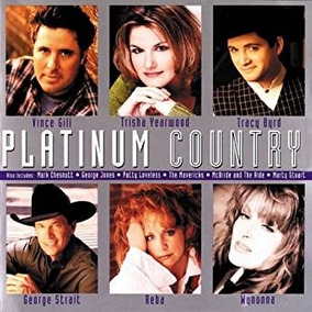 Cd Platinum Country 11 Musica Importado Novo Vários Cantores