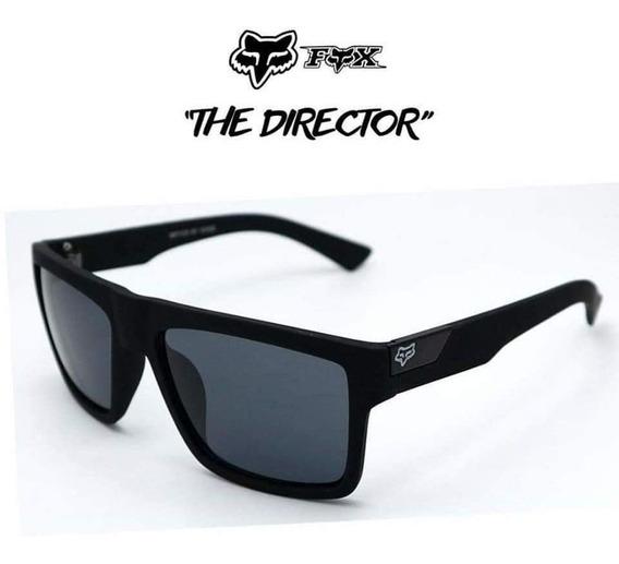 Gafas Fox The Director Negrolentes De Sol Con Protección Uv