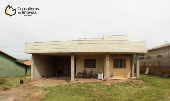 Chácara Com 3 Dormitórios À Venda, 1038 M² Por R$ 360.000 - Chacara Itália - Cosmópolis/sp - Ch0001