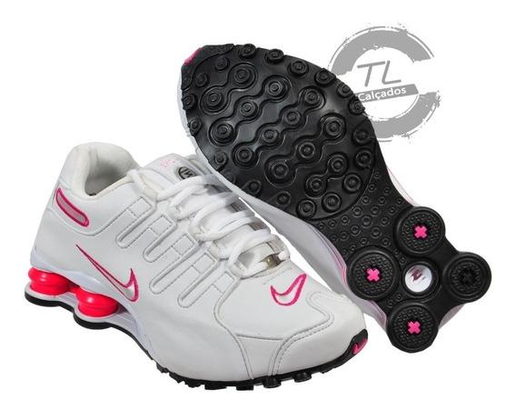 Tênis Feminino Nike Sxhox Nz Eu Couro Original Envio Rapido