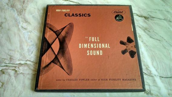 Caixa Lp - Classics In Full Dimensional Sound