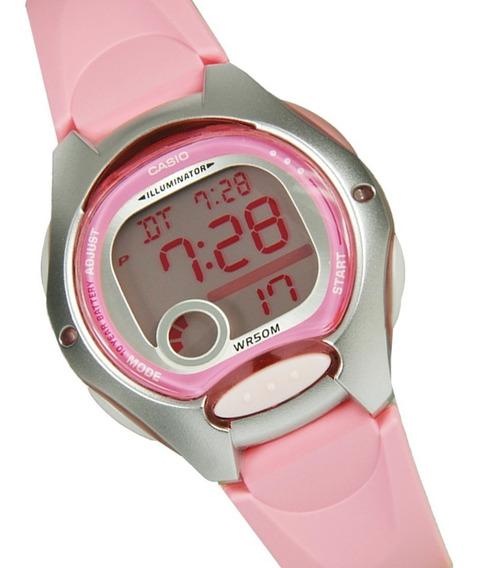 Relogio Casio Lw 200 Cores Femin Alarm Data Nf Wr50m Lw200