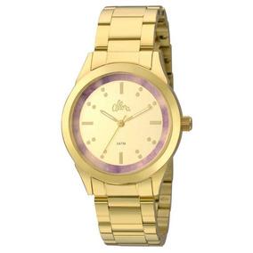 Relógios Analógico Allora Al2035fkj/k4n Feminino, Resistente