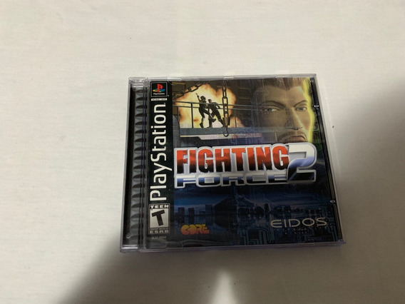 Fighting Force 2 Ps1 Original Completo Americano