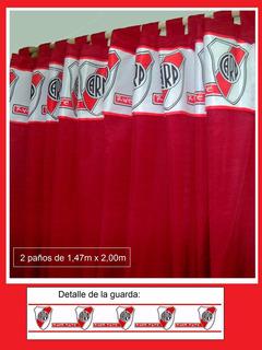 Juego De Cortinas De River Plate!!