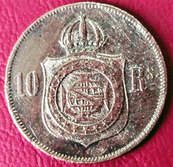 Moneda Siglo 19 Brasil (1869)