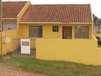 Ótima Residência No Bairro Planta Deodoro Em Piraquara - Ca0341